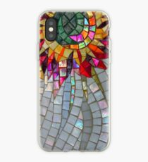 Star Flower,  photography of shiny mosaic - JUSTART © iPhone Case