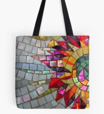 Star Flower,  photography of shiny mosaic - JUSTART © Tote Bag