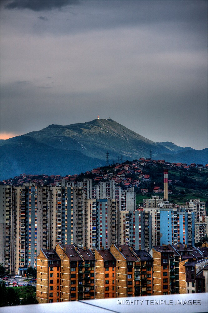 Sarejevo Hills  by MIGHTY TEMPLE IMAGES