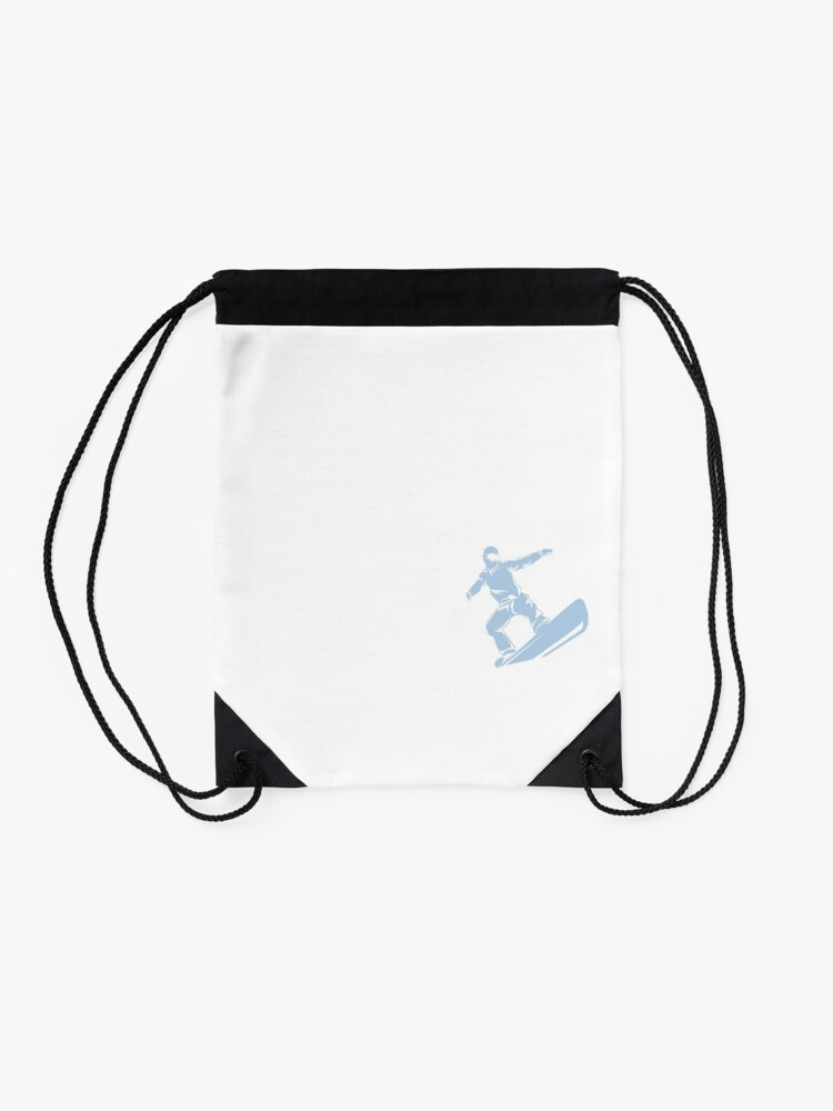 Alternate view of Check Out My Lines Drawstring Bag