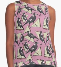 Magpies & Fairy Bread - Pink Sleeveless Top