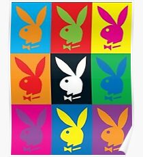 PlayBoy MultiColored Poster