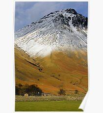 Wasdale Lake District Poster