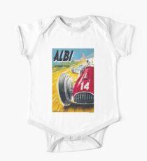 ALBI : Vintage 1952 Grand Prix Auto Racing Advertising Print Kids Clothes