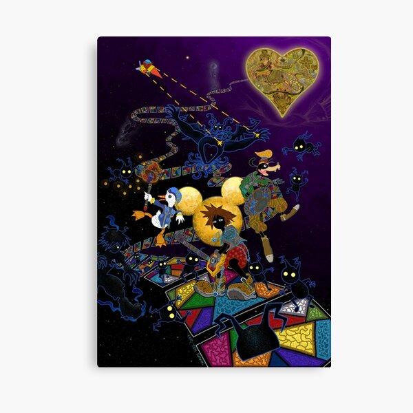 Deadly Dreaming - Kingdom Hearts Canvas Print