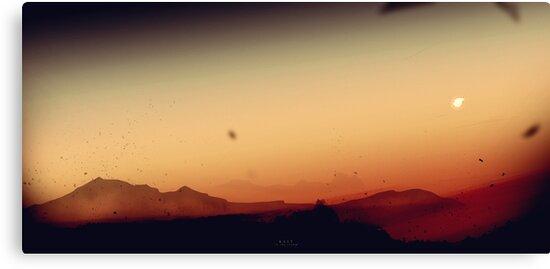 Rest in the Storm - Digital Artwork von Lucas Dietrich
