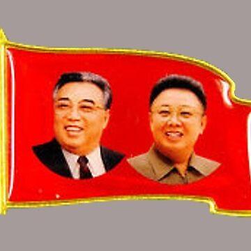 DPRK North Korean Lapel Pin by radpidgeons