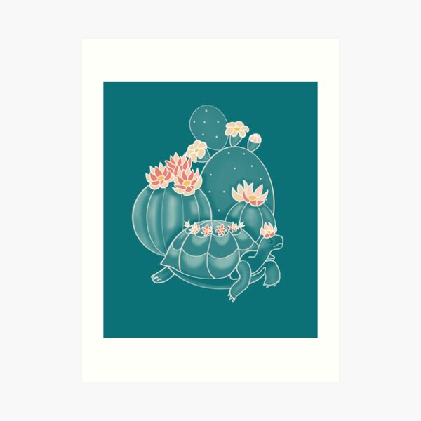 Find a tortoise  Art Print
