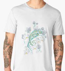 chameleons and orchids  Men's Premium T-Shirt