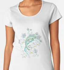 chameleons and orchids  Women's Premium T-Shirt