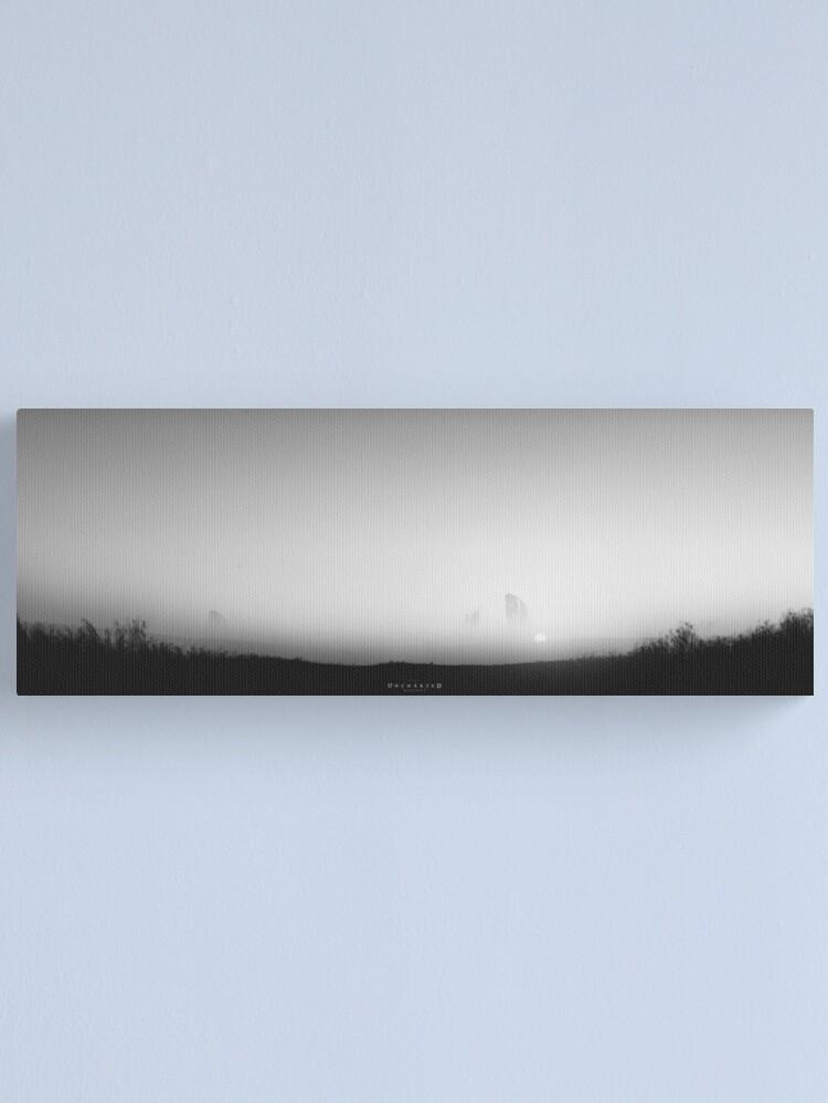 Alternative Ansicht von Uncharted Memories - Digital Artwork Leinwanddruck