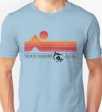 Berg Sonnenuntergang Unisex T-Shirt