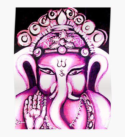Ganesha radiating Love Poster