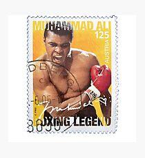 muhammad ali heavyweight champion boxing legend Photographic Print