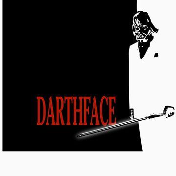 DARTHFACE by babboze