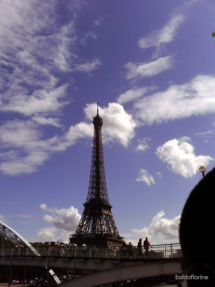 Eiffel Tower by boldoflorine