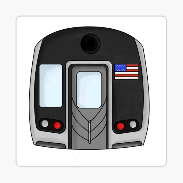 New York City Subway Subway Train Sticker