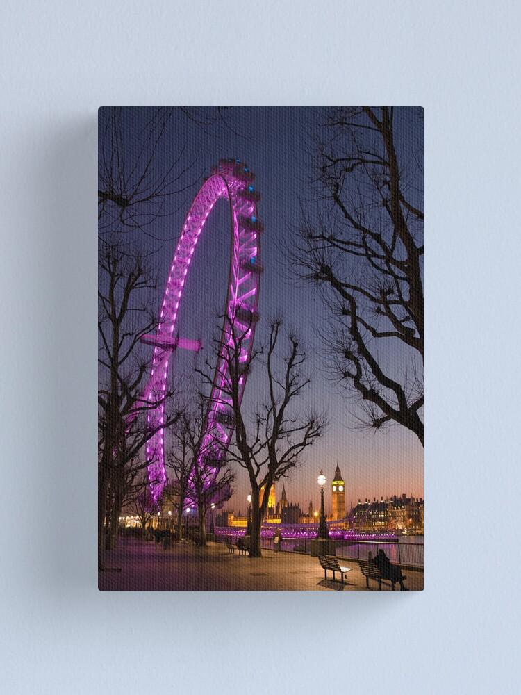 Alternate view of Big Ben London Eye (Alan Copson © 2008) Canvas Print