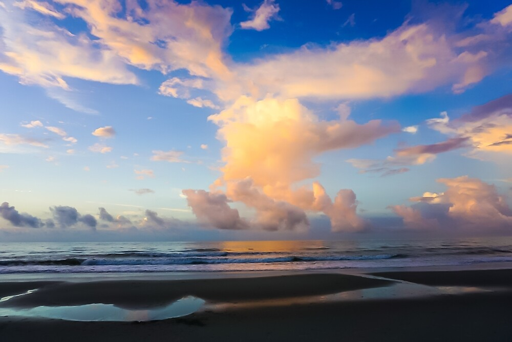 Beach Sunrise Surprise #photography #art #landscape by Jacqueline Cooper
