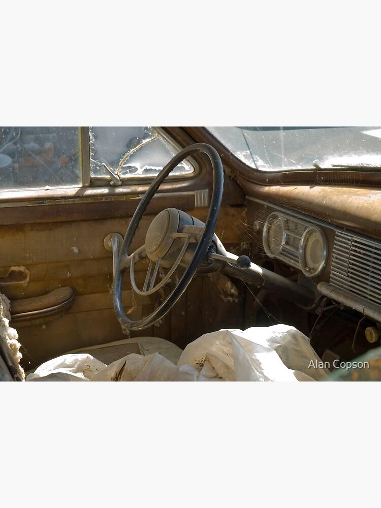 Route 66. White Oak. Old cars in wrecker's yard (Alan Copson © 2007) by AlanCopson
