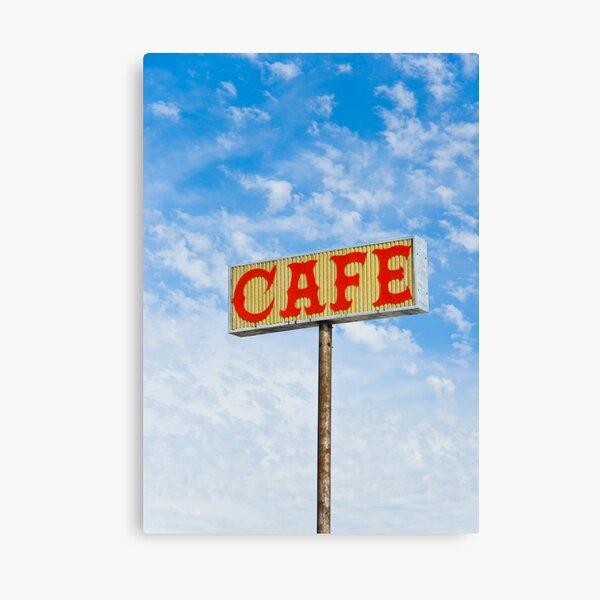 Route 66. Afton. Cafe sign. (Alan Copson © 2007) Canvas Print