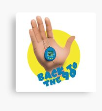 Back to the 90 Canvas Print