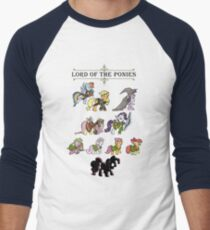 My little fellowship of the ring Men's Baseball ¾ T-Shirt