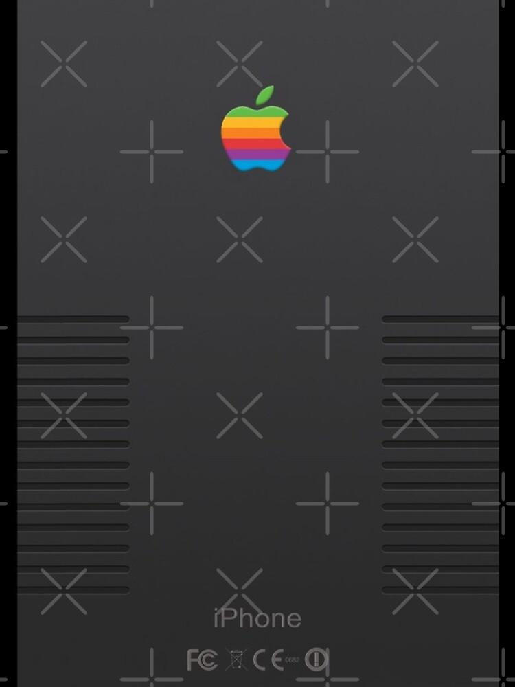 Black Retro iPhone by sumberriz
