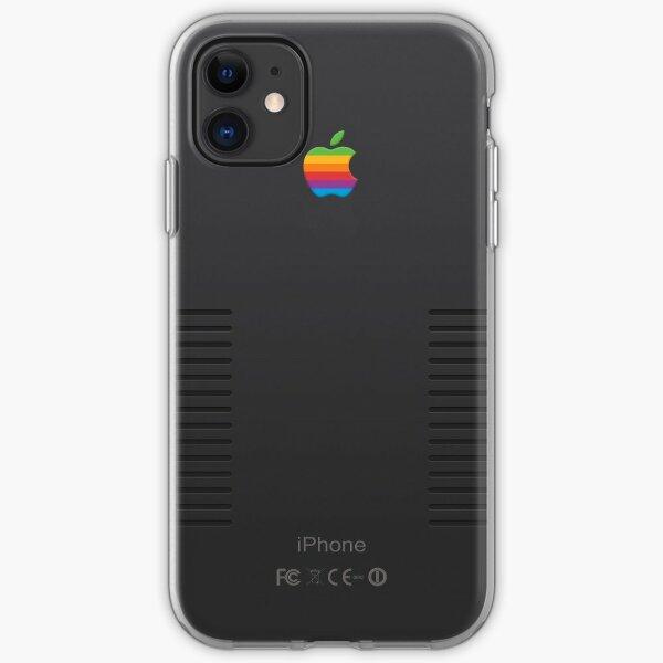 Black Retro iPhone iPhone Soft Case