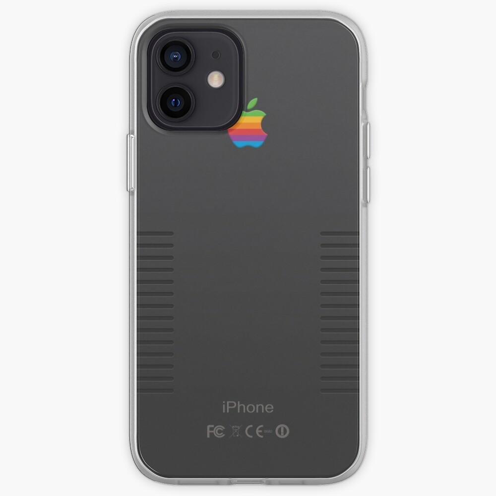 Black Retro iPhone iPhone Case & Cover