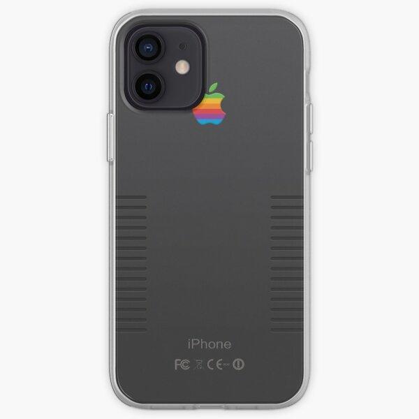 IPhone rétro noir Coque souple iPhone