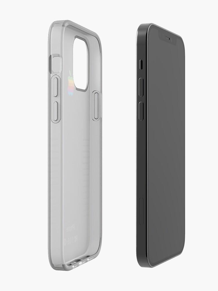 Alternate view of Black Retro iPhone iPhone Case & Cover