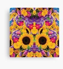 Photography illustration | Sunflower Garden  Canvas Print
