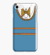Tank top with bow tie iPhone Case/Skin