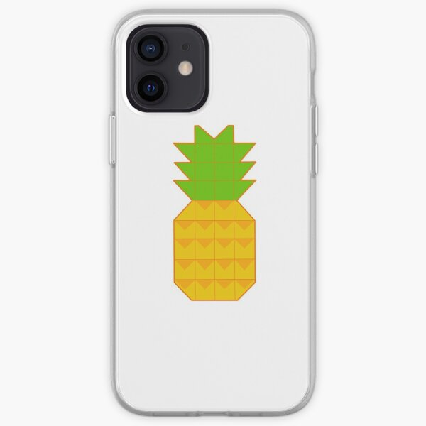 Glass Animals Pineapple iPhone Soft Case