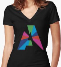 AAA Women's Fitted V-Neck T-Shirt