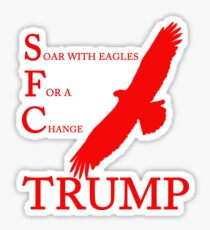 Trump SFC Sticker