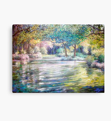 Vogel's Pond Canvas Print
