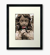 Serenity Rose Framed Print