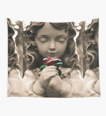 Serenity Rose Wall Tapestry