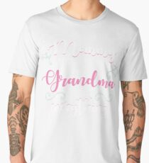Grandma Gifts Mommy Knows A Lot But Grandma Knows Everything Men's Premium T-Shirt