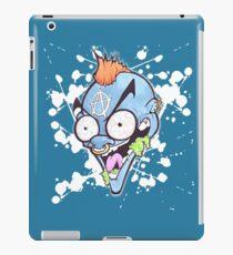 Blue Loon Freak Cartoon Graffiti Character iPad Case/Skin