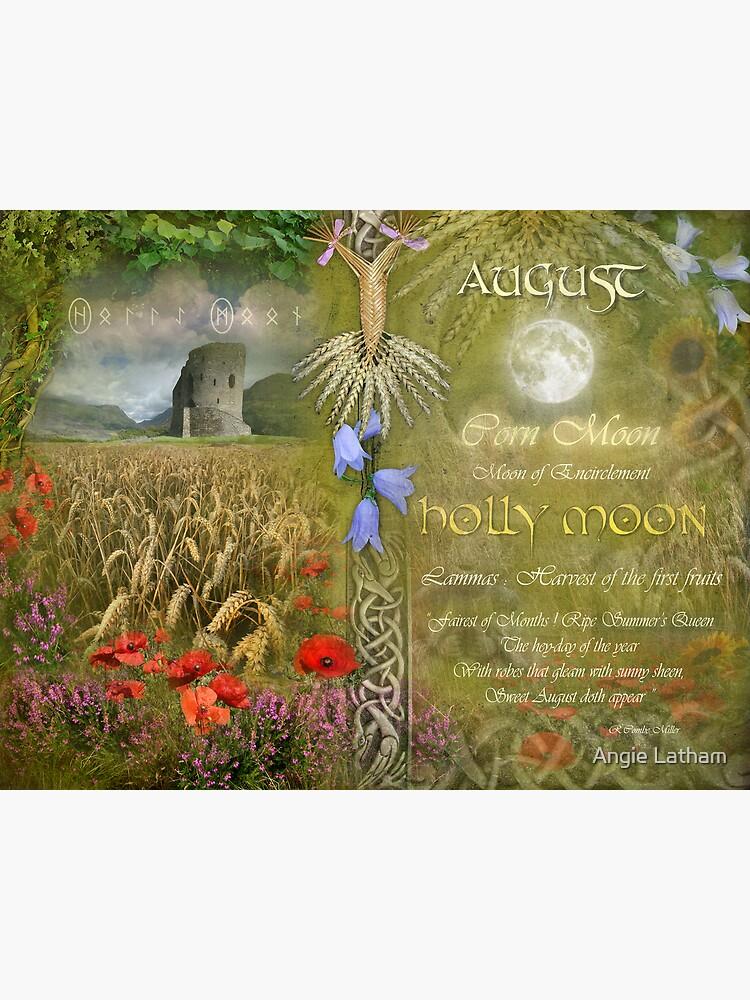 August : Holly Moon by AngelaBarnett