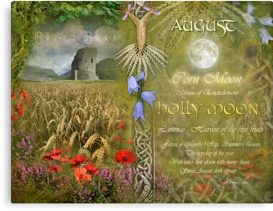 August : Holly Moon by Angie Latham