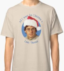 Louis Theroux Christmas edition Classic T-Shirt