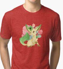Leafeon (Blossom) Tri-blend T-Shirt