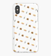 In N Out Burger Fries Shake Pattern iPhone Case/Skin