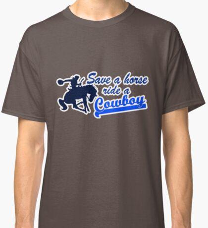 Cowboy t-shirt Classic T-Shirt