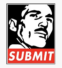 Helio Gracie Submit Photographic Print