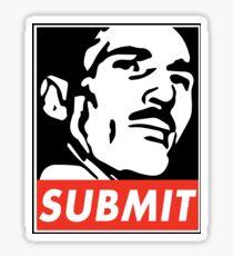 Helio Gracie Submit Sticker